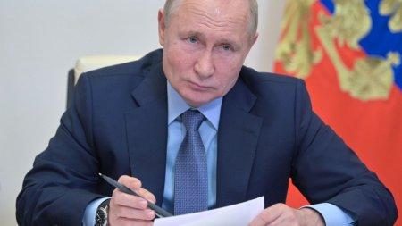 Vladimir <span style='background:#EDF514'>PUTIN</span> a ordonat marirea livrarilor de gaz catre UE, dupa umplerea rezervoarelor Rusiei
