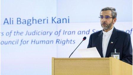 SUA cere Iranului sa dea dovada de ''buna-credinta'' la re<span style='background:#EDF514'>LUAREA</span> negocierilor programului nuclear